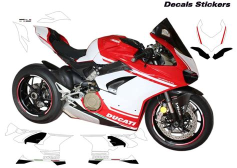 Ducati Sticker Design by Stickers For Ducati Panigale V4 Design Quot Race Of Chions Quot