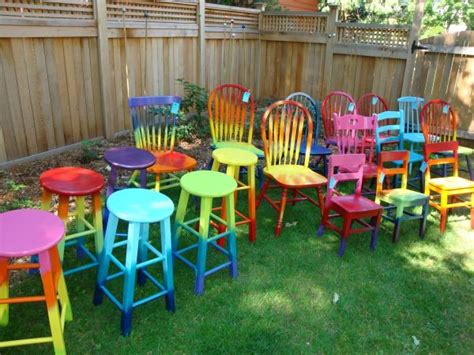painting wood patio furniture ombre tie dye furniture it peace n patio furniture and window