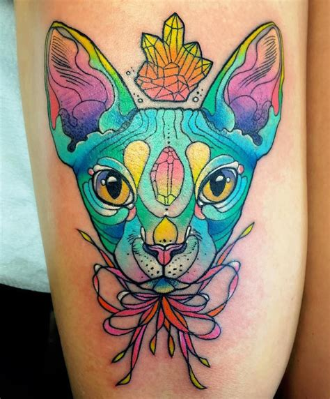 lisa frank tattoo shocrylas colorful tattoos channel frank