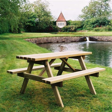 wooden picnic table wooden picnic tables duncombe sawmill local and uk