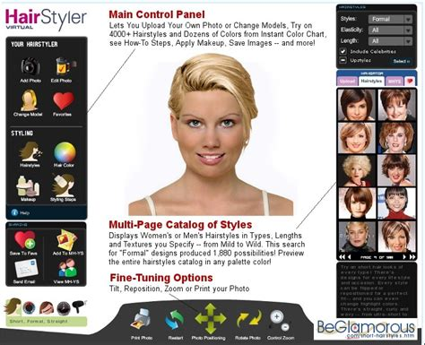 hairstyles for short hair virtual short hairstyles test them on your photo virtual