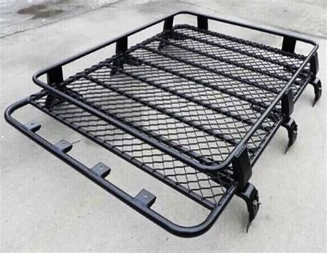 transit steel roof rack tray top black 4x4 cargo