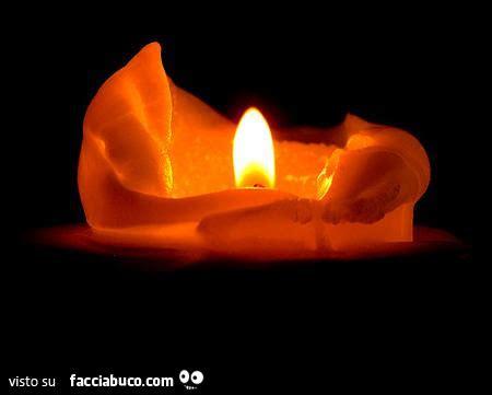 candela accesa candela accesa facciabuco