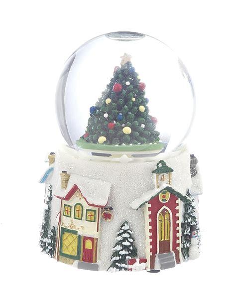 medium tree snow globe christmas ornament other