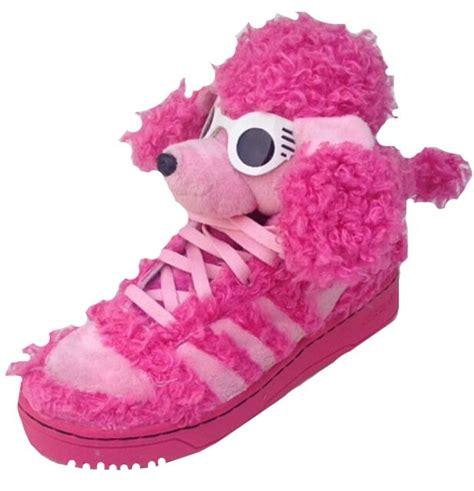 adidas js teddy gorilla poodle designer shoes trainers op pink uk 11 ebay