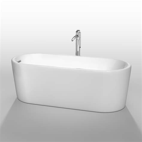 wyndham bathtubs ursula 67 quot soaking bathtub by wyndham collection white