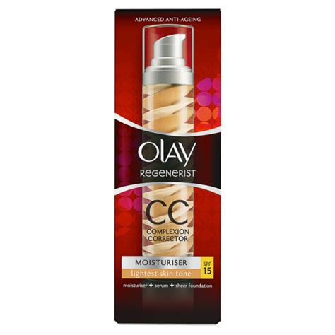 Olay Te Cc Light olay regenerist moisturiser cc spf15 light 50ml free uk delivery
