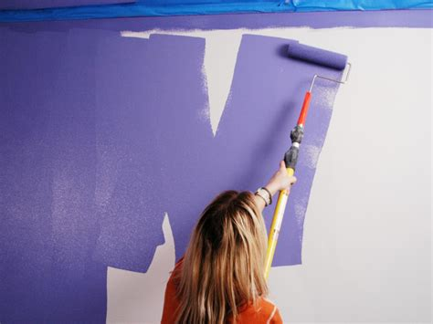 painted wall how to paint a room how tos diy