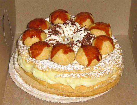 st cake gateau st honore sweet leaf