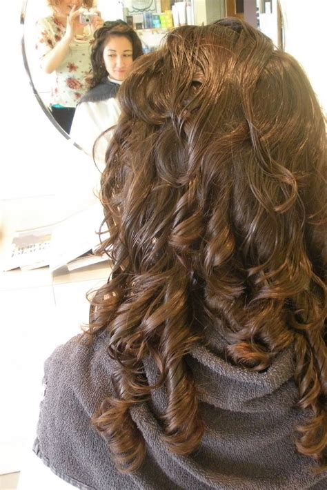 perms done right body wave perm hair salon short hairstyle 2013