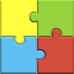 4 piece jigsaw clipart best