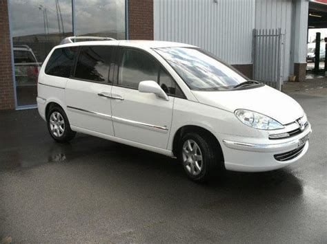 used peugeot estate cars for sale used white peugeot 807 2008 diesel 2 0 hdi 120 se estate