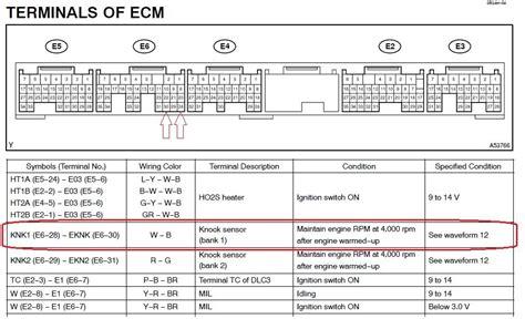 ecu bank locations looking for ecm pinout ls430 for knock sensor hack