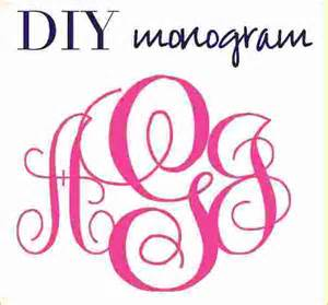 Free Monogram Templates by Images Of Monogram Embroidery Fonts Free Font Templates