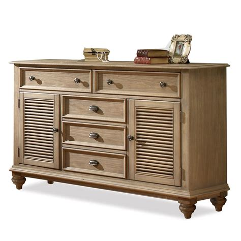 shutter bedroom furniture riverside furniture coventry 32460 shutter door dresser with 5 drawers adjustable