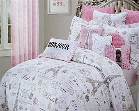 eiffel tower bed set paris comforter sets
