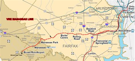 vre map virginia railroad express