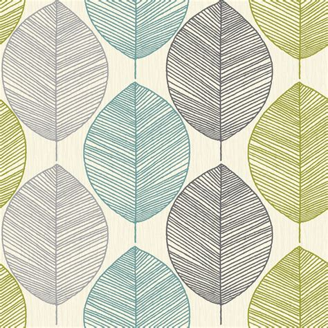 Leaf Pattern Motif | arthouse retro leaf pattern leaves motif designer