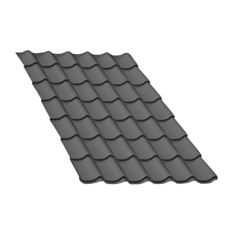 Tuile Anthracite by T 244 Le Tuile Gris Anthracite 2 5 M Gris Anthracite