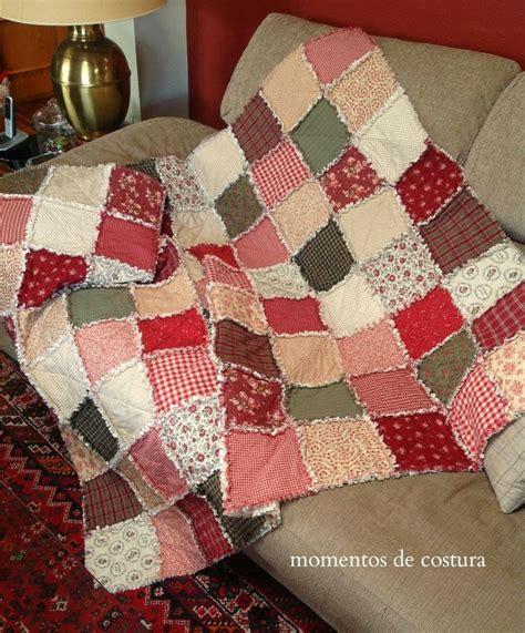 Rag Patchwork Quilt - 86 best rag quilts images on bedspread