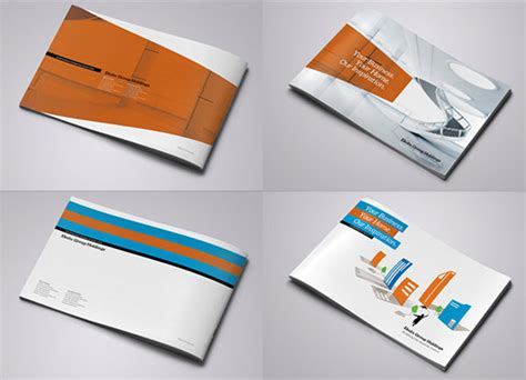 corporate layout inspiration 25 really beautiful brochure designs templates for