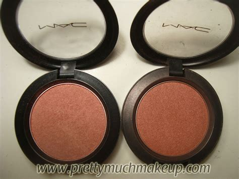 Blush On Mac Indonesia mac blush in margin and sunbasque review glam radar