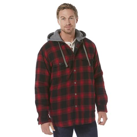 Flanel Jaket s flannel shirt jacket find durable outerwear at sears