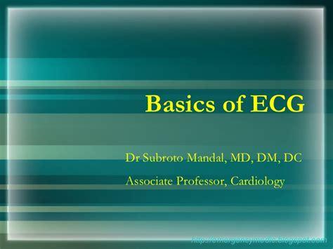 ecg tutorial powerpoint ecg basics