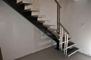 escaliers modernes en acier r 233 alisations rp evolution