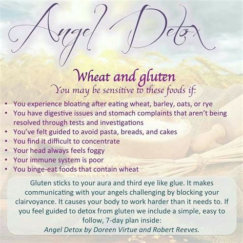 Wheat Detox by 44 Best Images About Doreen Virtue On And