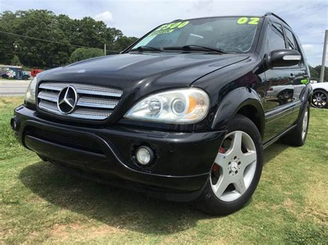 2002 mercedes ml55 amg 2002 mercedes m class ml55 amg awd 4matic 4dr suv in