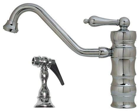 rustic kitchen faucet whktsl3 2200 kitchen faucet lever handles rustic kitchen faucets by plfixtures