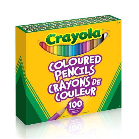 crayola colored pencils 100 crayola coloured pencils 100 count crayola store