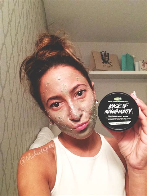 Masker Lush the beetique lush 187 mask of magnaminty review