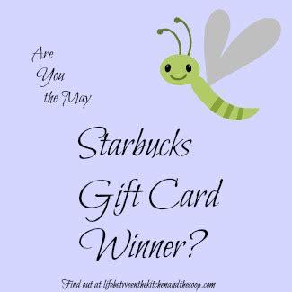 Starbucks Gift Card Through Email - starbucks gift card winner for april