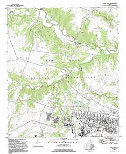 ft map fort topographic map tx usgs topo 31097b7