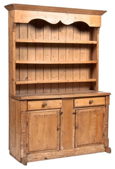 Kitchen Hutch Ireland Sold Out Antique Pine Hutch 3 950 Est Retail