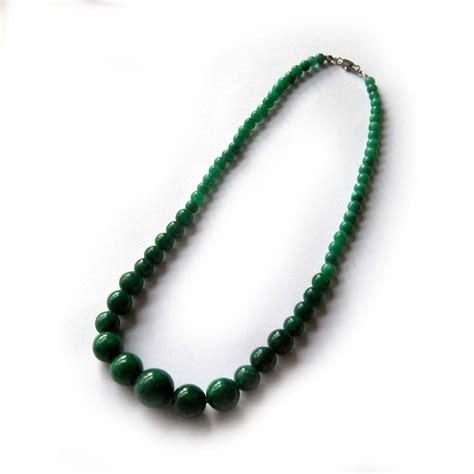 Green Jade Gem Necklace Jewelry Ebay
