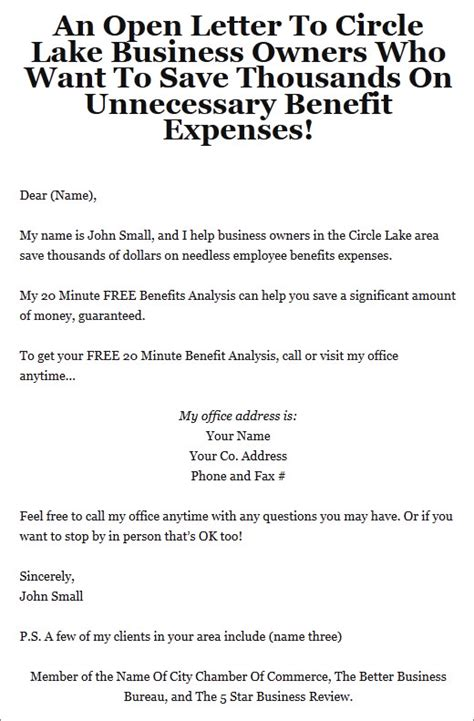 business to business marketing letter sequence amazing