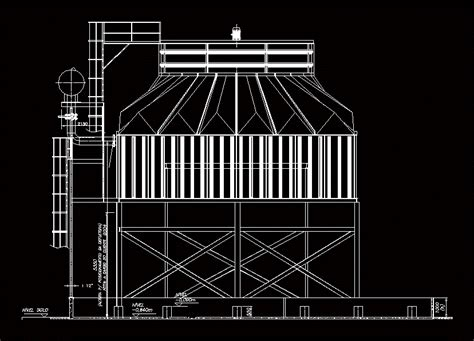 cooling tower dwg block  autocad designs cad