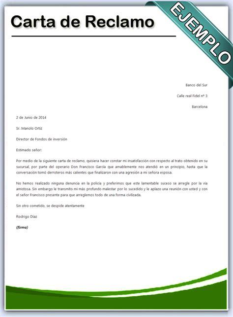 carta formal de reclamacion como realizar una carta formal de reclamo newhairstylesformen2014