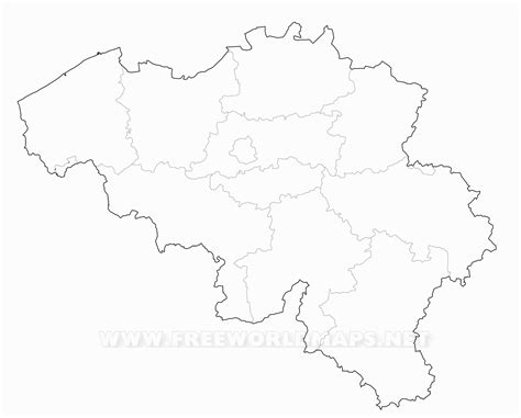 blank map of belgium belgium outline pictures to pin on pinsdaddy