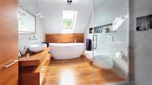 bathroom ideas with wood floors wooden floor in 20 bathroom designs rilane