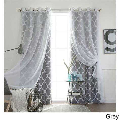 diy room darkening curtains aurora home mix match curtains moroccan room darkening