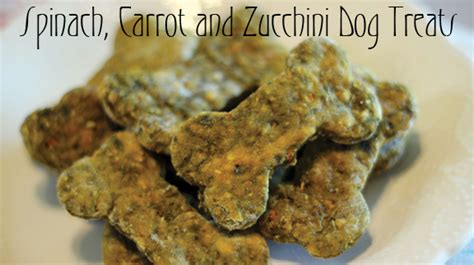dogs zucchini s pantry spinach carrot and zucchini treats oklahoma farm ranch