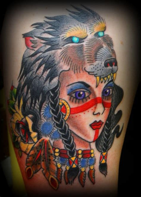 tattoo girl animal head wolf animal growling man tattoo best tattoo design ideas