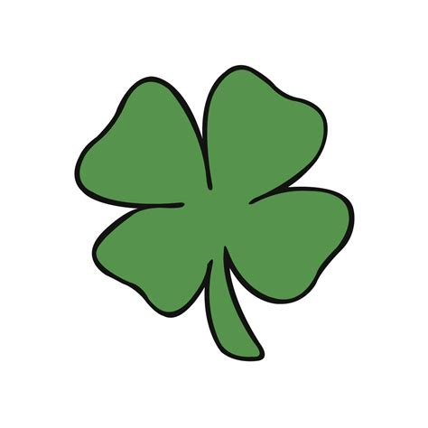 small leaved shamrock small four leaf clover clipart best