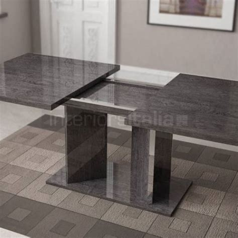 Buffet Dining Room Furniture High Gloss Dining Table Extending Sarah Grey Birch Sale
