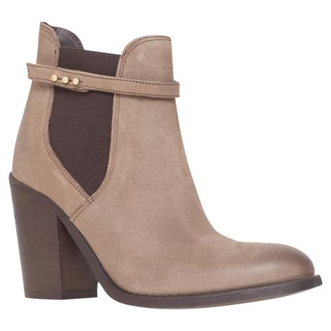 carvela boots for carvela kurt geiger stand ankle boots in gray grey lyst