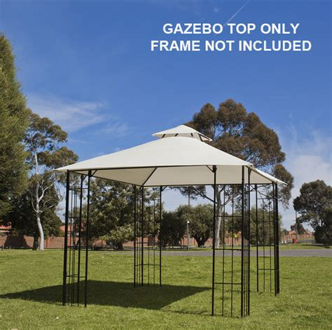 gazebo fabric gazebo fabric top only 3x3m replacement for outdoor